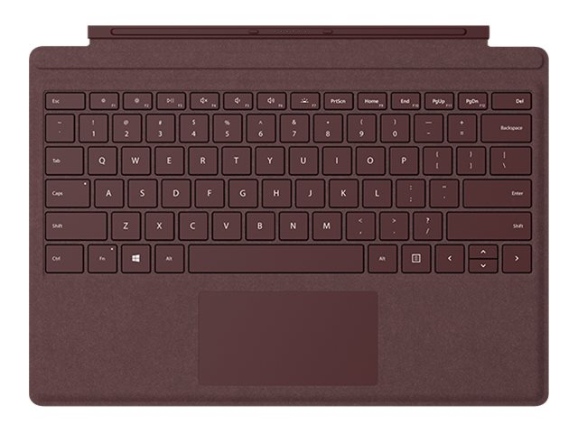 Microsoft Surface Pro Signature Type Cover - keyboard - with trackpad   accelerometer - English - bd0d55d3bc96b