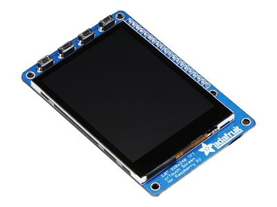 PiTFT Plus + Capacitive Touchscreen