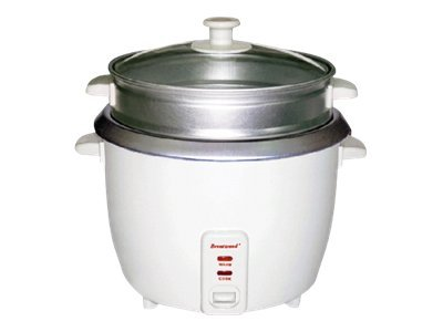 Brentwood TS-180S Rice cooker/steamer 1.6 qt