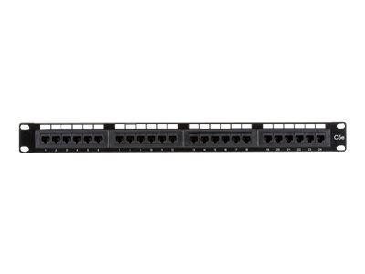 Black Box Value Line CAT5e - patch panel - 1U - 19""