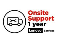 Lenovo Post Warranty On-Site Repair - Extended service agreement - parts and labor - 1 year - on-site - for ThinkPad P1; P1 (2nd Gen); P40 Yoga; P43; P50; P51; P52; P53; P70; P71; P72; P73; W54X