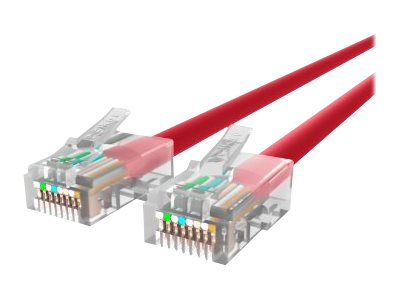 Belkin Patch cable RJ-45 (M) to RJ-45 (M) 3 ft UTP CAT 5e stranded red B2B