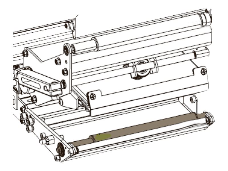 Zebra - auxillary roller right hand and left hand kit