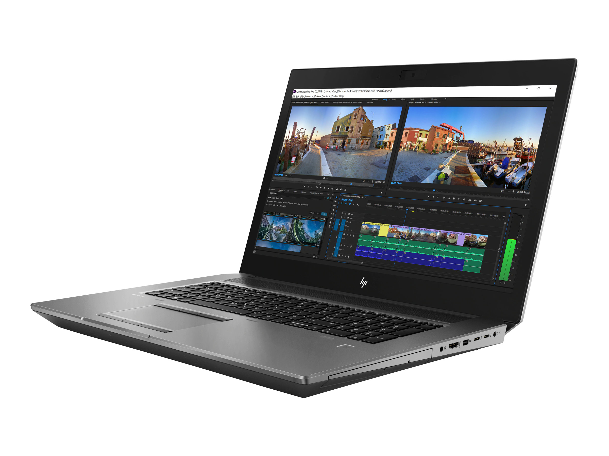 "HP ZBook 17 G5 Mobile Workstation - 17.3"" - Xeon E-2176M - 16 GB RAM - 512 GB SSD - US"