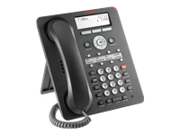 Avaya 1408 Digital Deskphone - Digital phone - black
