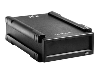 Quantum RDX - Disk drive - RDX - SuperSpeed USB 3.0 - external - with 500 GB Cartridge