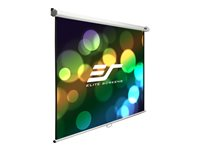 Elite Screens Manual B Series M100S Projection screen ceiling mountable, wall mountable