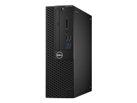 Dell OptiPlex 3050 - SFF - 1 x Core i5 7500 / 3.4 GHz - RAM 8 GB - SSD 256 GB - DVD-Writer - HD Graphics 630 - GigE - Win 10 Pro 64-bit - monitor: none - BTS