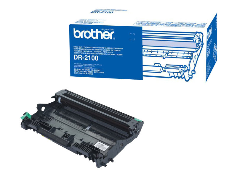 Brother DR2100 - Trommel-Kit - für Brother DCP-7030, 7040, 7045, HL-2140, 2150, 2170, MFC-7320, 7440, 7840; Justio DCP-7040