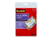 Scotch 5-pack clear glossy 5.35 in x 7.