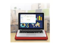 Aluratek ACP01FR Notebook cooling pad 17INCH 127 mm red