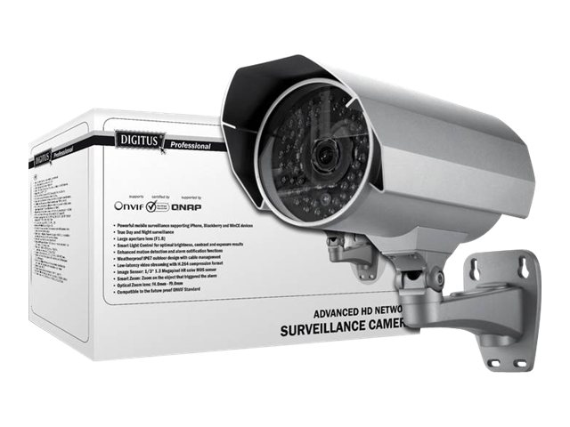 DIGITUS Professional DN-16064 Advanced HD Network Bullet Camera - Netz