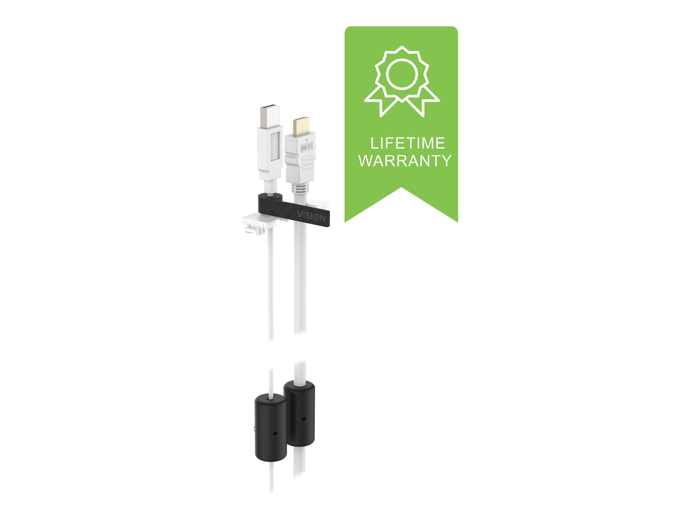 VISION TechConnect 3 Table Faceplate Pull-Up Module - Kabeleinzugssystem