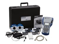 Brady BMP41 DataComm Starter Kit Labelmaker monochrome thermal transfer Roll (1 in)