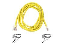 Belkin patch cable - 2.1 m - yellow