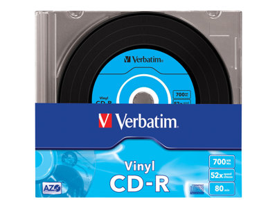 Data Vinyl - CD-R x 10 - 700 MB - Speichermedium