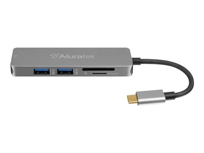 Aluratek AUMC0302F Multimedia Hub and Card Reader with HDMI