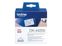 Brother DK44205 - Removable adhesive