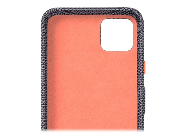 Google - Back cover for cell phone - polycarbonate, nylon fabric - sorta smoky - for Google Pixel 4