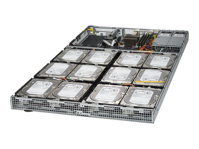 """Supermicro 1U 12x 3.5"""" Bays SuperServer 5018D4-AR12L (Complete System Only)"""