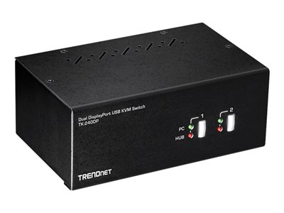 TRENDnet TK-240DP KVM / audio / USB switch Desktop