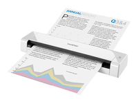 Brother DSmobile 720D - Sheetfed scanner - Duplex - 215.9 x 812.8 mm - 600 dpi x 600 dpi - up to 100 scans per day - USB 2.0