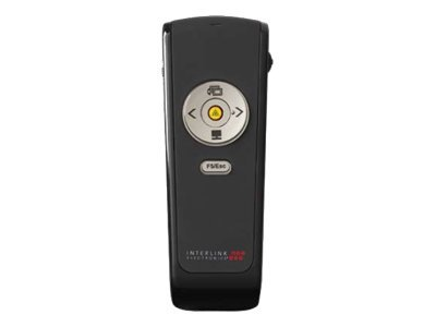 Interlink Electronics Wireless Presenter with Laser Pointer VP4550 - Präsentations-Fernsteuerung - 5 Tasten - HF
