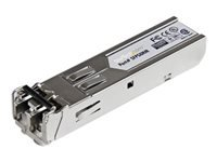 StarTech.com Gigabit 850nm Multi Mode SFP Fiber Optical Transceiver - LC 550m - SFP (mini-GBIC) transceiver module - Gigabit Ethernet - 1000Base-SX - LC multi-mode - up to 550 m - 850 nm