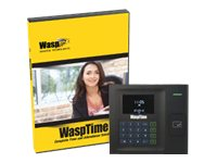 WaspTime Pro (v. 7) box pack 5 administrators, 100 employees CD Win -