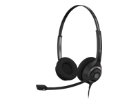Sennheiser Circle SC 260 - Headset - on-ear - wired - active noise cancelling - Easy Disconnect - black with silver - with Sennheiser CSTD 01