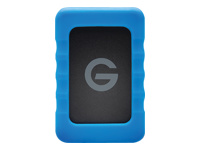 "G-Technology G-DRIVE ev RaW GDEVRAWEA10001BDB - Hard drive - 1 TB - external (portable) - 2.5"" - USB 3.0 / SATA 3Gb/s - 7200 rpm - Plug and Play"