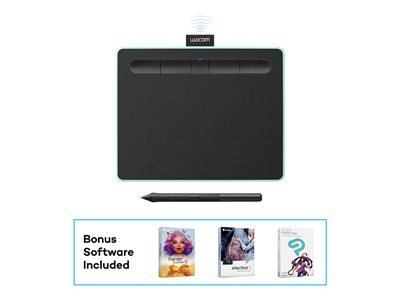 Wacom Intuos Creative Pen Small Digitizer 6 x 3.7 in electromagnetic 4 buttons