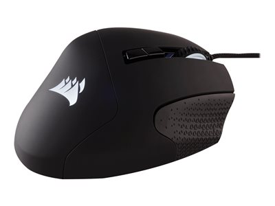 CORSAIR Gaming SCIMITAR PRO RGB MOBA/MMO Optisk Kabling Sort