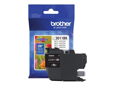Brother LC3011BK Black original ink cartridge