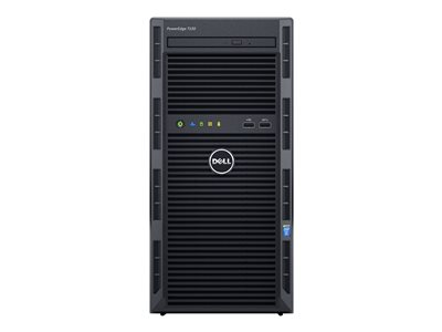 Dell PowerEdge T130 Server MT 1-way 1 x Xeon E3-1220V5 / 3 GHz RAM 8 GB HDD 1 TB