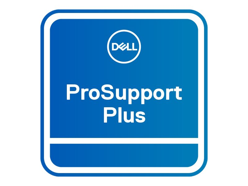 Dell Upgrade from 1Y ProSupport to 5Y ProSupport Plus - extended service agreement - 5 years - on-site