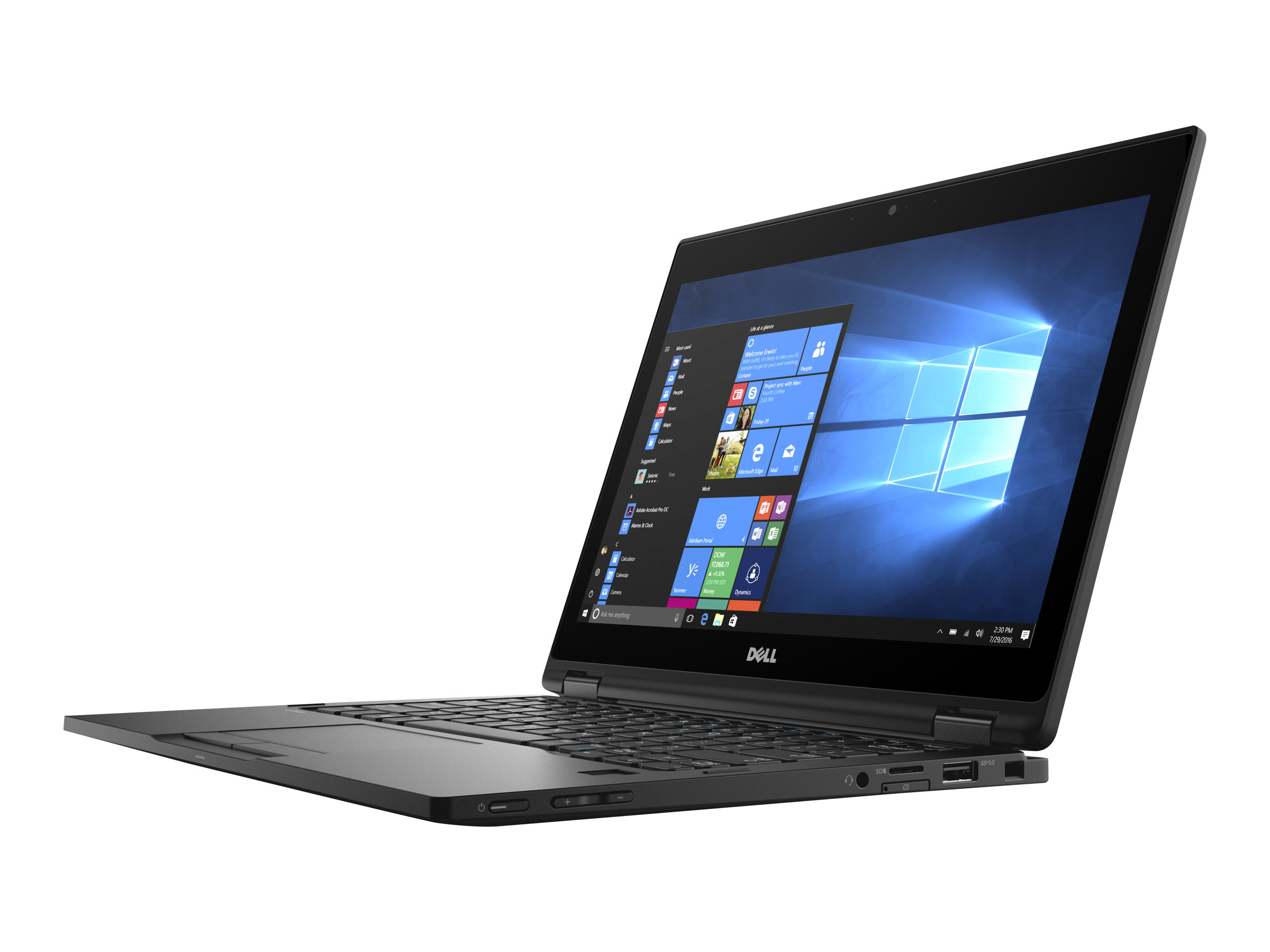 Dell Latitude 12 5289 2 In 1 - Flip-Design - Core i5 7200U / 2.5 GHz - Win 10 Pro 64-Bit - 8 GB RAM - 256 GB SSD