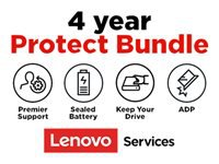 Lenovo On-Site + ADP + KYD + Sealed Battery + Premier Support - Extended service agreement - parts and labor - 4 years - on-site - for ThinkPad L460; L470; L560; L570; P1; P50; P51; P52; P70; P71; P72; P73; T460; T470; W54X