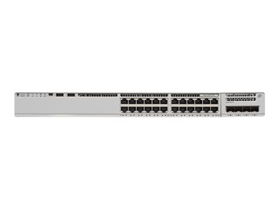 Cisco Catalyst 9200 - Network Essentials - switch - 24 ports - smart - rack-mountable