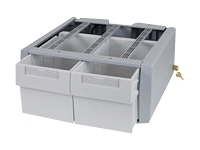 Ergotron StyleView SV Supplemental Storage Drawer, Double Tall