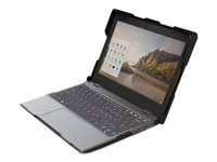 Gumdrop BumpTech Notebook top and rear cover black, clear for Acer Chr
