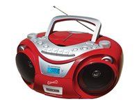 Supersonic SC-739BT Boombox red