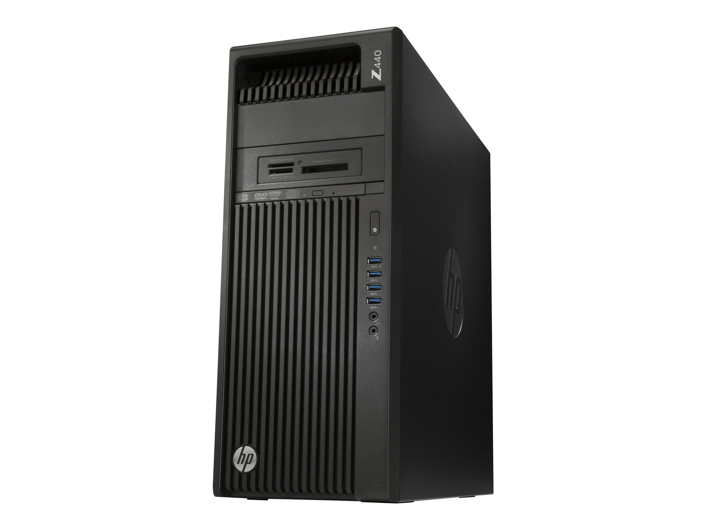 HP Workstation Z440 - MT - 4U - 1 x Xeon E5-1620V4 / 3.5 GHz - RAM 8 GB - SSD 128 GB, HDD 2 TB