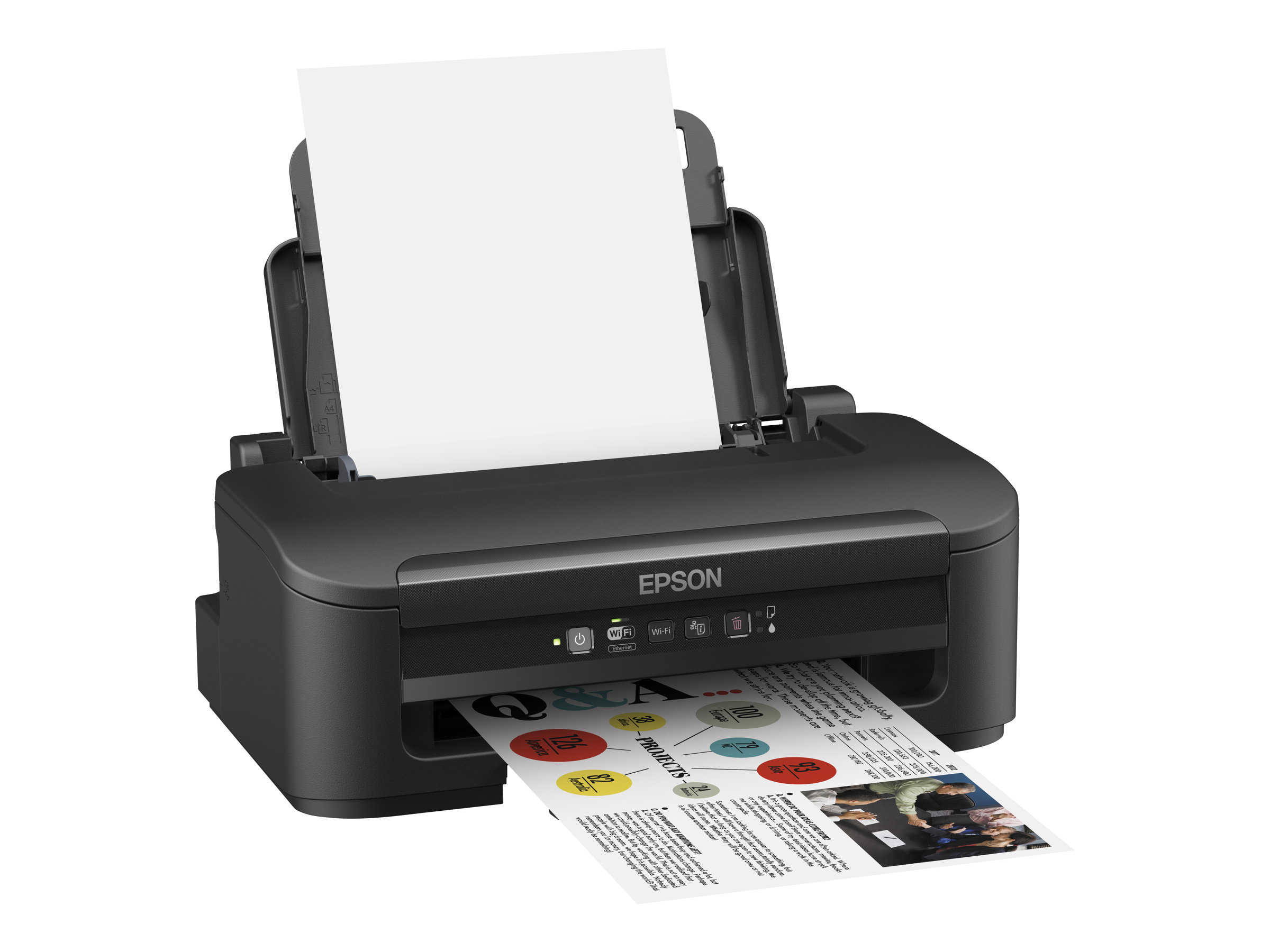 Epson WorkForce WF-2010W - Drucker - Farbe - Tintenstrahl - A4/Legal - 5760 x 1440 dpi