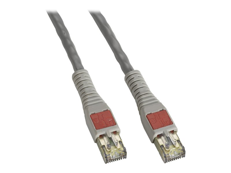Black Box CAT6 Blade Server Patch Cable - patch cable - 2.1 m - gray