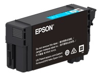 Epson T41P - 350 ml - High Capacity - cyan - original - blister with RF/acoustic alarm - ink cartridge - for SureColor T3470, T5470, T5470M