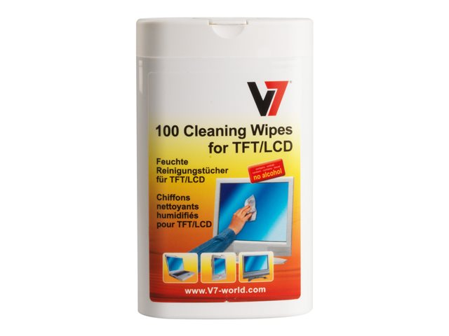 Image of V7 cleaning wipes