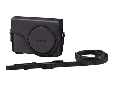 Sony LCJ-WD Case for camera polyurethane, leather-like black for C