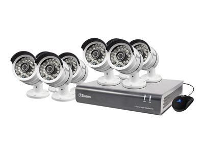 Swann SWDVK-846008 DVR + camera(s) 8 channels 1 x 2 TB 8 camera(s)