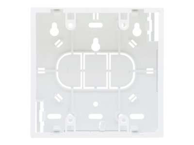 Kramer OWB-2G Mounting component (wall box) plastic white on-wall mounted
